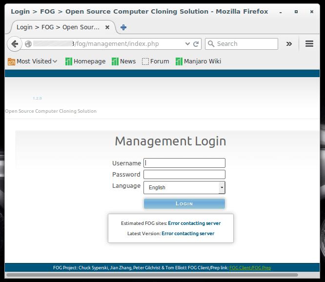 FOG : projet open-source de gestion d'image disque | memo